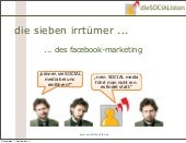 7 irrtümer über fb marketing
