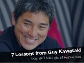 7 Lessons From Guy Kawasaki They Won't Teach You At Business School