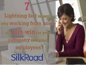 7 lightning fast reasons why working from home is a  win-win for your company and your employees