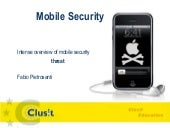 2010: Mobile Security - Intense ove...