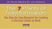 7 Points of Transformation: Step-by-Step Blueprint for Building a Thriving Culture at Work