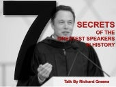7 Secrets of the Greatest Speakers In History