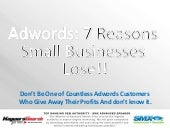 Adwords: 7 Reasons Small Businesses...