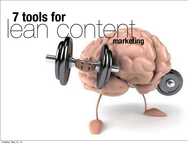 7 Tools for Lean Content Marketing