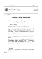 2007 - General Assembly Resolution ...