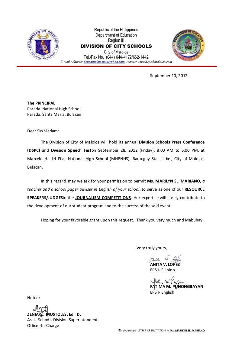 Application Letter For Filipino Teacher Application Letter