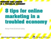 8 Marketing Tips for a Troubled Eco...