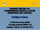 Tunisia Program - Working Meeting o...