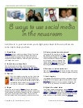 8 Ways For Journalists To Use Social Media