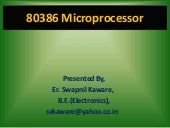Advanced Microprocessors By Er. Swa...