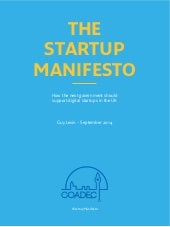 The Startup manifesto from Coadec