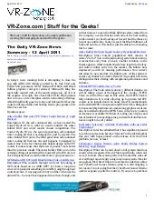VR-Zone Technology News | Stuff for...