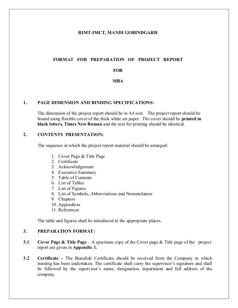 How To Write An Executive Summary For A Lab Report  Executive Summary Format For Project Report