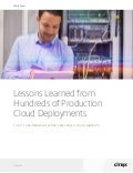 Top 5 considerations when selecting a cloud platform white paper