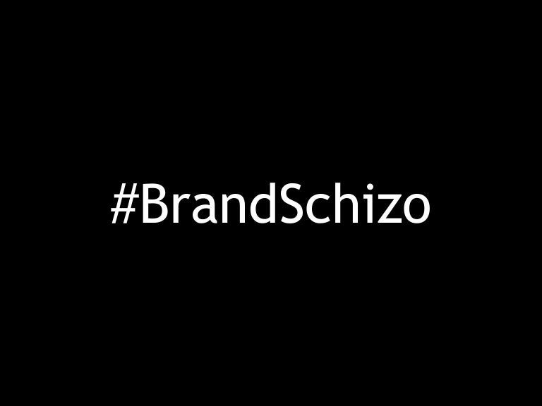#BrandSchizo presentation for Durban #DigitalDinner 2014