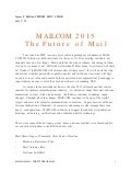 MAILCOM 2015 - The Future of Mail 03-254-2015