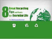 8 Great Recycling Tips And Hacks For Everyday Life