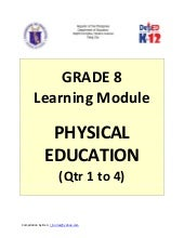 Grade 8 Learning Module in Physical...