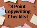 8 point copywriting checklist
