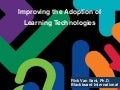 Improving the Adoption of Learning Technologies