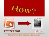 8 Ways To Convert Power Point To Video