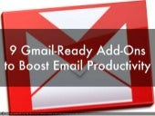 9 Gmail Add-ons to Boost Email Productivity
