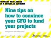 9 tips on how to convince your CFO ...
