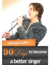 90 days to becoming a better singer