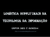92 slids  logística  supply chain  ...