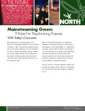 Mainstreaming Green: The 9 Rules Fo...