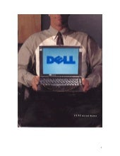 dell 1996 Annual Report Cover 	 Fis...