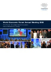 World Economic Forum Annual Meeting...