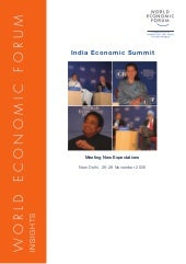 India Economic Summit 2006