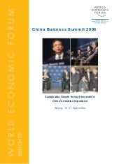 China Business Summit 2006