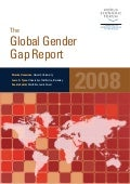 The Global Gender Gap Report 2008