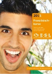 Language courses abroad: Brochures