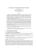 Research Note on E-teaching