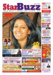 StarBuzz Aug1Nandita