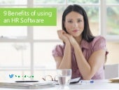9 Benefits of using an HR software