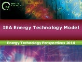 IEA-Energy Technology Model