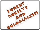9 forest society and colonialism by...