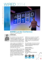 Wired 2014 Conference Report
