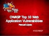 OWASP Top 10 Web Application Vulner...
