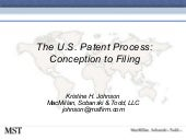 09-The U.S. Patent Process: Concept...