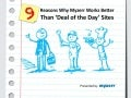 9 Reasons why myzerr works better than deal of-the-day sites