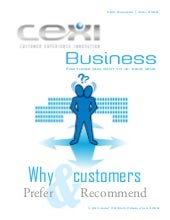 CEXIBIZ - Why customers prefer and ...