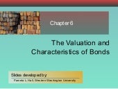 Chapter 06 Valuation & Characterist...