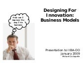 Designing For Innovation: Business ...