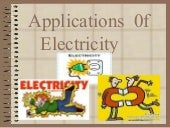 Applications of electricity