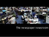 How Newspaper Newsrooms Work